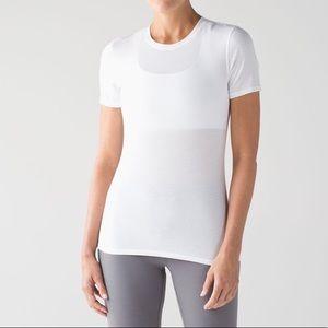 Lululemon NWOT Kitsilano Short Sleeve Tee White 10
